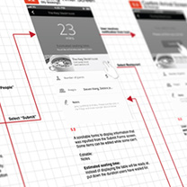 conception des wireframes